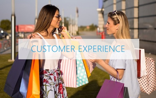 Customer experience concepts online