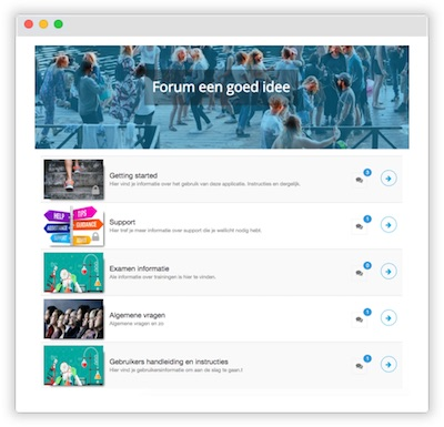 Innovatie forum categorieën